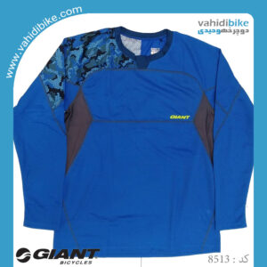 لباس دوچرخه سواری جاینت مدل Giant Realm L/S Jersey blue آبی