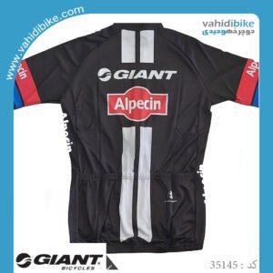 لباس دوچرخه سواری جاینت آلپسین_مدل Alpecin SS team jersey مشکی قرمز