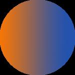 آبی نارنجی