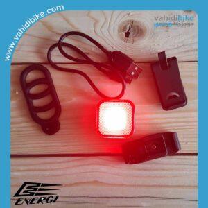 چراغ عقب شارژی دوچرخه انرژی مدل EBL-3287
