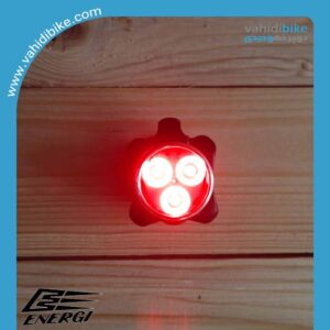 چراغ عقب شارژی دوچرخه انرژی مدل EBL-022
