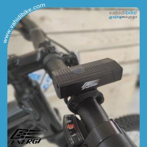 چراغ جلو شارژی دوچرخه 350 لومن انرژی مدل EBL-2255A