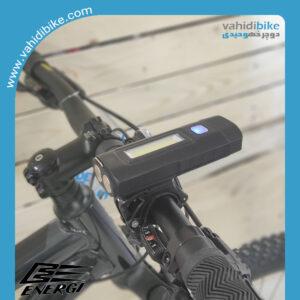 چراغ جلو شارژی دوچرخه 1000 لومن انرژی مدل EBL-048A