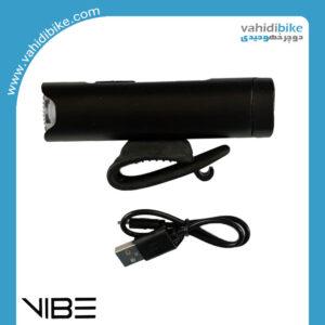 چراغ جلو شارژی دوچرخه وایب مدل LIGHVB0370