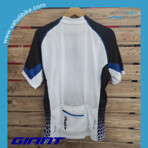 لباس دوچرخه سواری جاینت آبی-سفید-مشکی