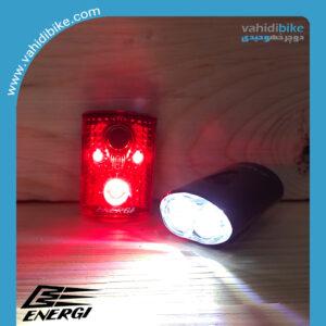 چراغ عقب و جلو شارژی انرژی مدل CG-211WR
