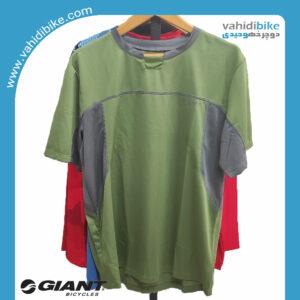 لباس دوچرخه سواری جاینت تریال جرسی _مدل Core Trail SS Jersey سبز طوسی